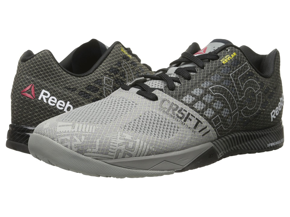 Reebok - CrossFit Nano 5.0 (Flat Grey/Black) Men's Cross Training Shoes