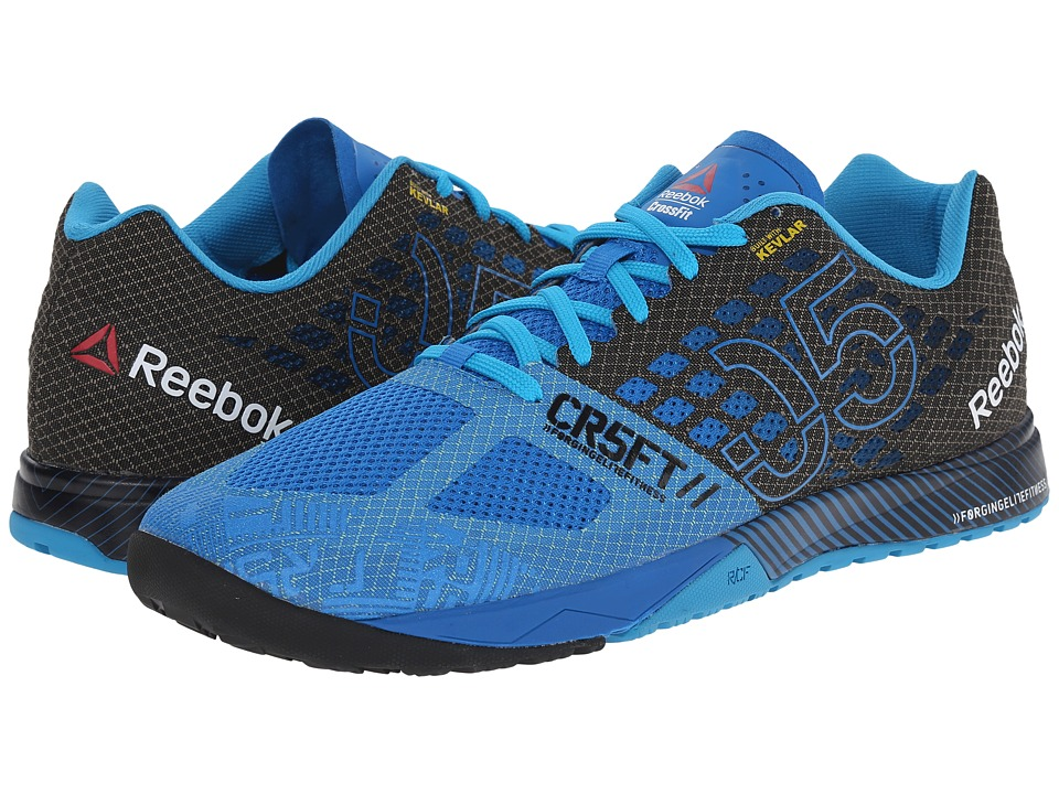 reputable site 2b7ee 7db80 ... Men s R Crossfit Nano 5.0 Training Shoe, Cycle Blue UPC 888597848652  product image for Reebok - CrossFit Nano 5.0 (Cycle Blue Black  ...