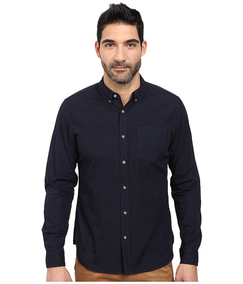 AG Adriano Goldschmied - Nimbus Shirt (Sulfer Night Eclipse) Men's Long Sleeve Button Up