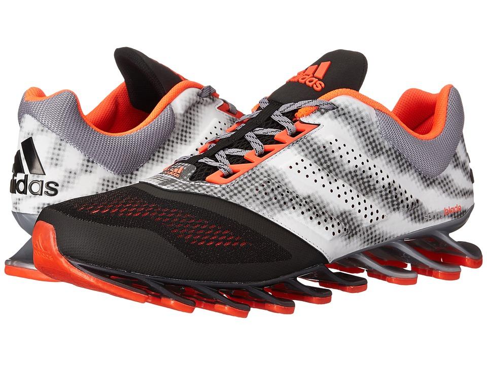 adidas Running - Springblade Drive 2 (Black/Solar Red/Silver Metallic) Men