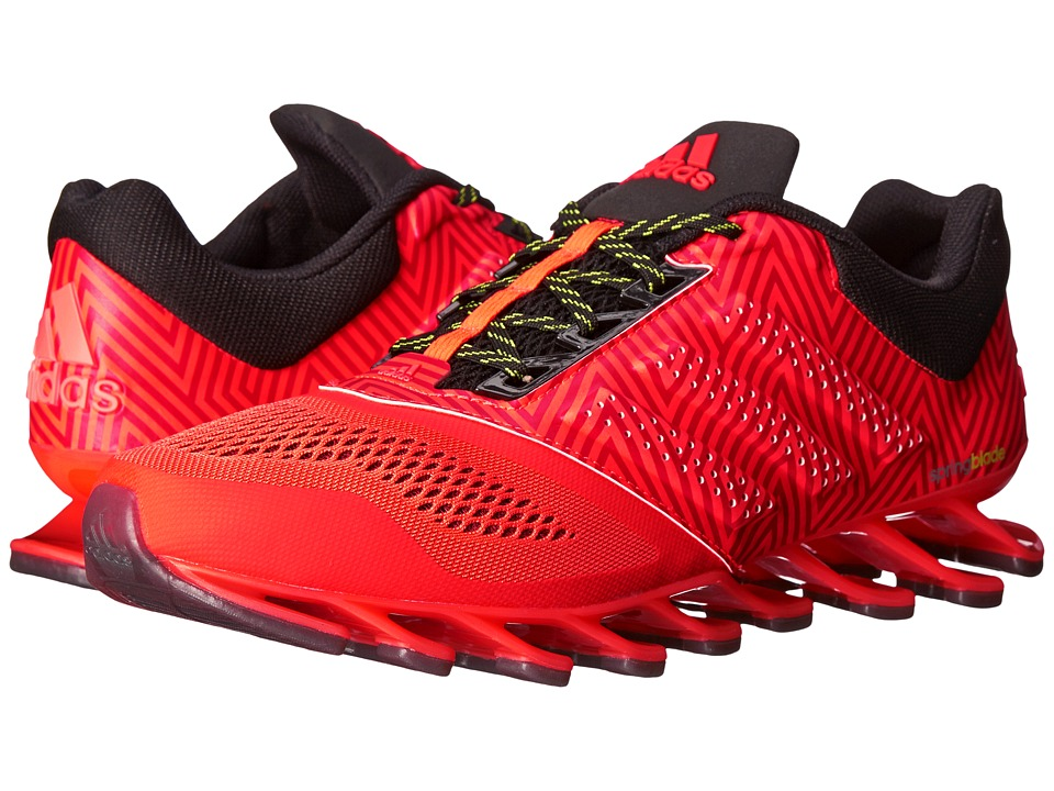 adidas Running - Springblade Drive 2 (Solar Red/Black/Silver Metallic) Men's Running Shoes
