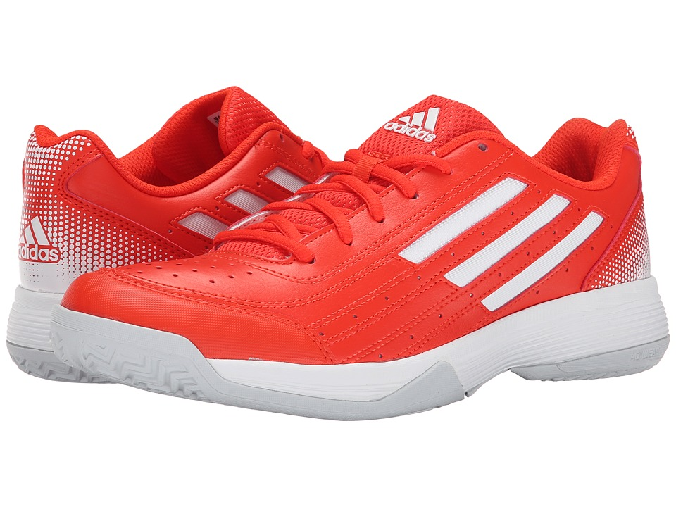 adidas - Sonic Attack (Solar Red/Black/Silver Metallic) Women's Tennis Shoes