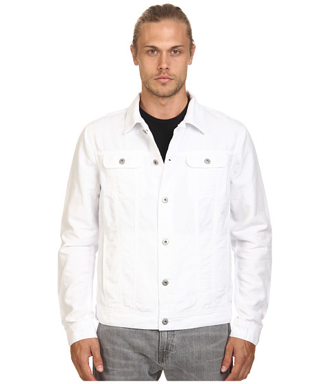 AG Adriano Goldschmied - Dart Jacket (True White) Men's Coat