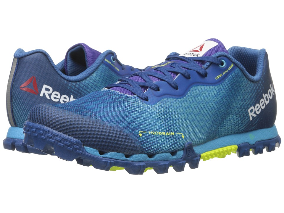 Reebok - All Terrain Super 2.0 (Neon Blue/Handy Blue/Instinct Blue/Solar Yellow) Men's Running Shoes