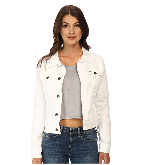 True Religion - Dusty Jacket (Optic White) Women