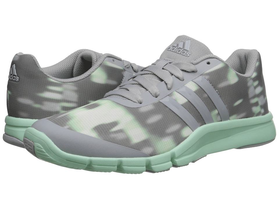 adidas - A.T. 360.2 Prima (Clear Onix/Frozen Green) Women's Cross Training Shoes