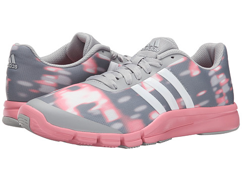 adidas - A.T. 360.2 Prima (Clear Onix/Super Pop Pink) Women's Cross Training Shoes