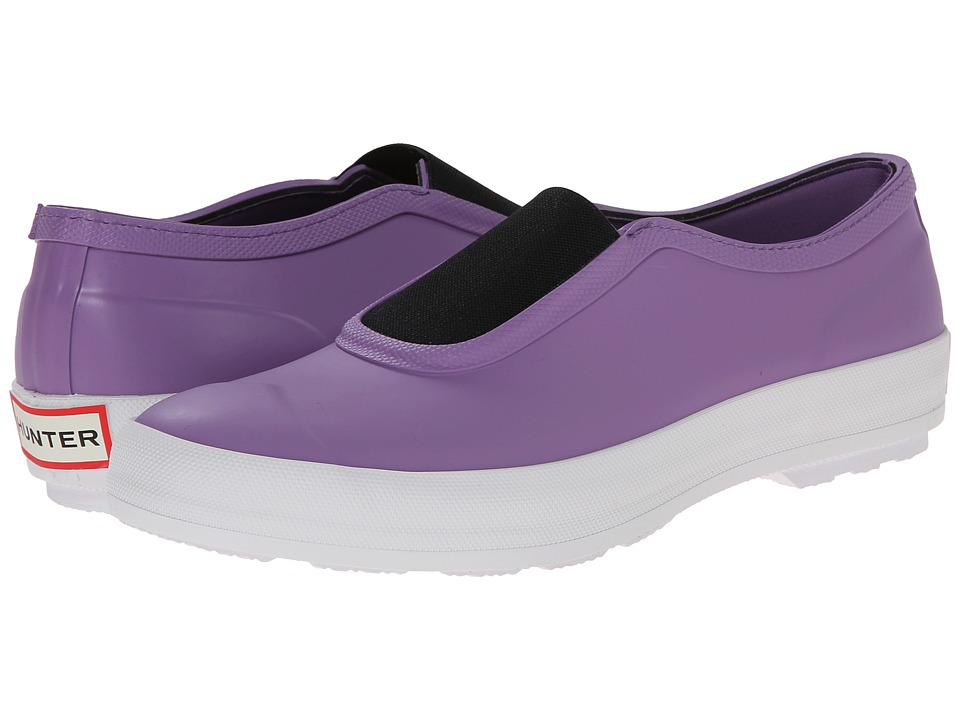 Hunter - Plimsole (Bright Lavender) Women's Flat Shoes