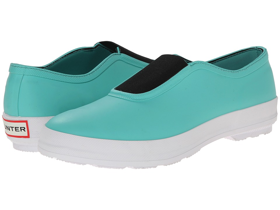 Hunter - Plimsole (Tourmaline Green) Women's Flat Shoes