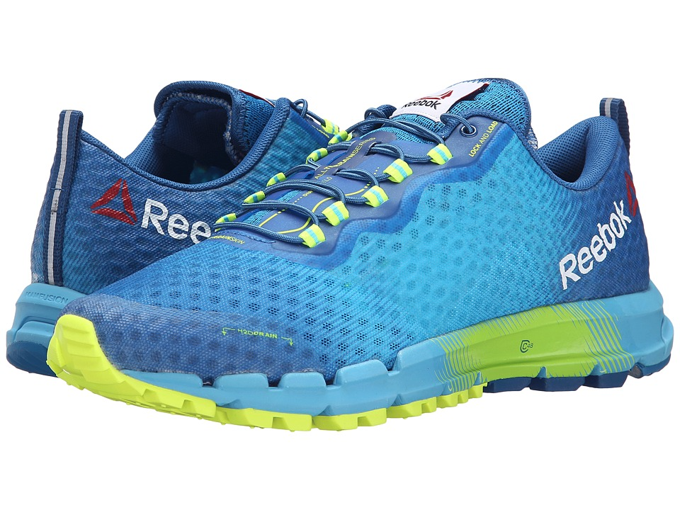 Reebok - All Terrain Thunder 2.0 (Neon Blue/Handy Blue/Instinct Blue/Solar Yellow/California Blue) Men's Running Shoes