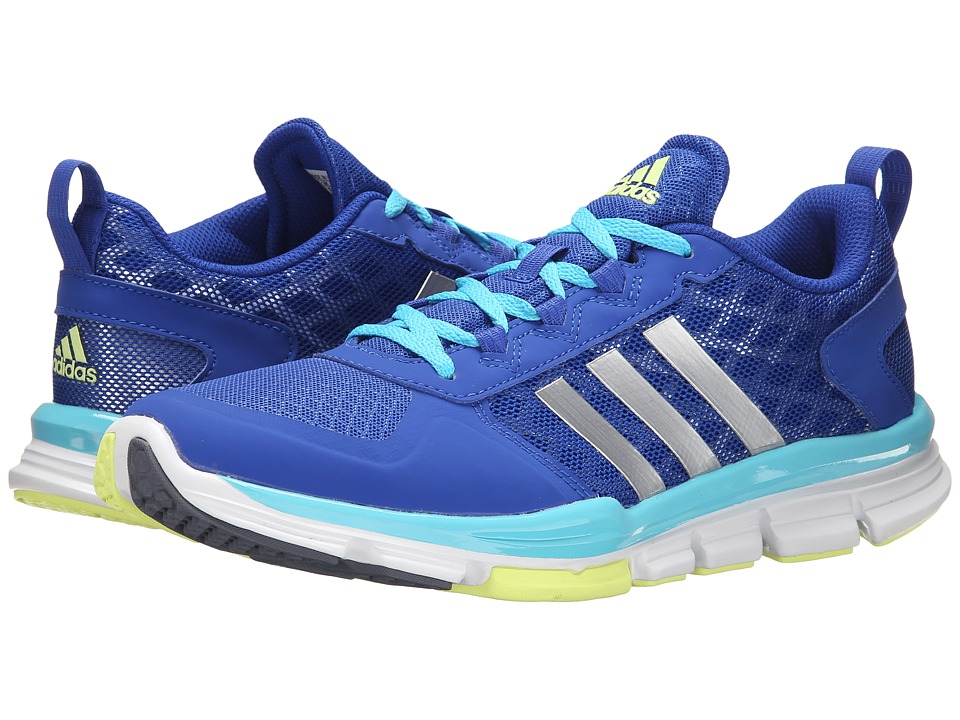 adidas - Speed Trainer 2 (Bold Blue/Silver Metallic/Bright Cyan) Women's Shoes