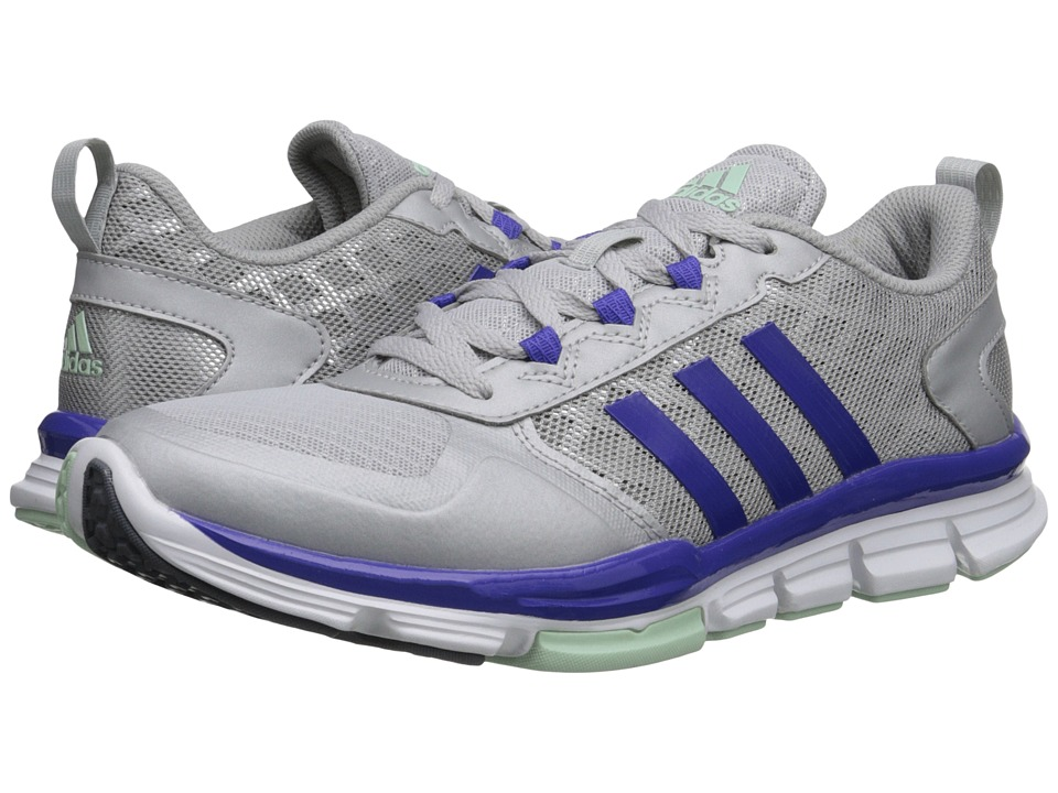 adidas - Speed Trainer 2 (Silver Metallic/Semi Night Flash/Frozen Green) Women's Shoes