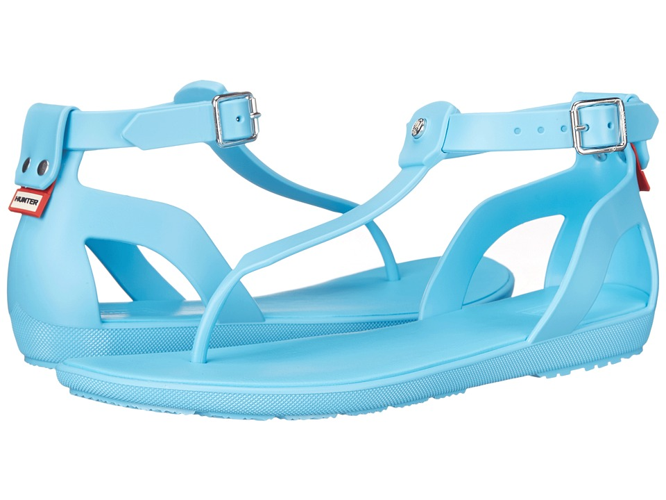 Hunter - Original T Bar Sandal (Sky Blue) Women's Sandals