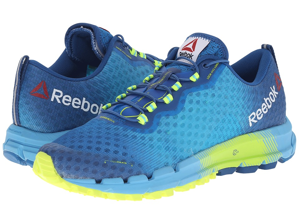 Reebok - All Terrain Thunder 2.0 (Neon Blue/Handy Blue/Instinct Blue/Solar Yellow/California Blue) Women's Running Shoes