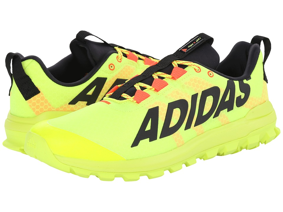 adidas Running - Vigor 6 TR (Solar Yellow/Black/Solar Red) Men's Running Shoes