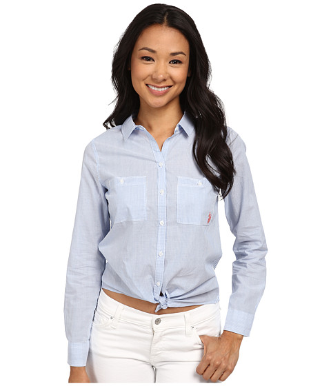 U.S. POLO ASSN. - 2 Stripe Shirt (Regatta) Women