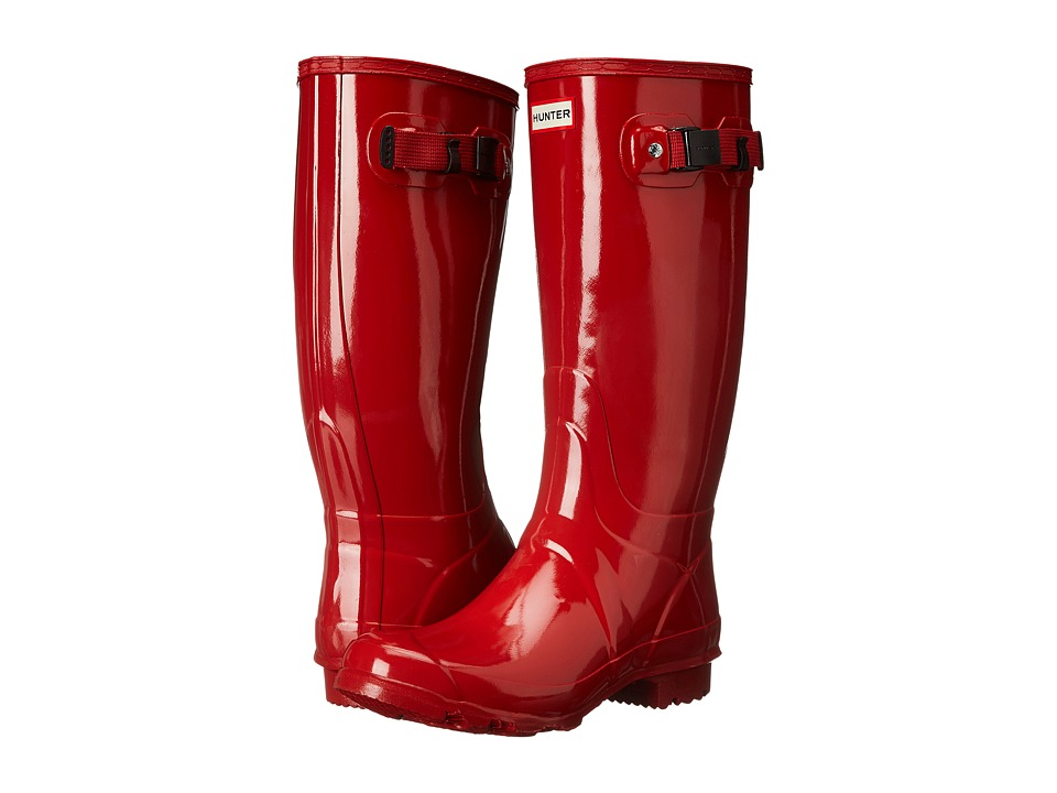 Hunter - Huntress Gloss (Hunter Red) Women's Rain Boots