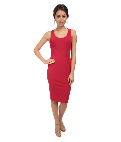 ZAC Zac Posen - ZP-01-5131-20 (Raspberry) Women's Dress
