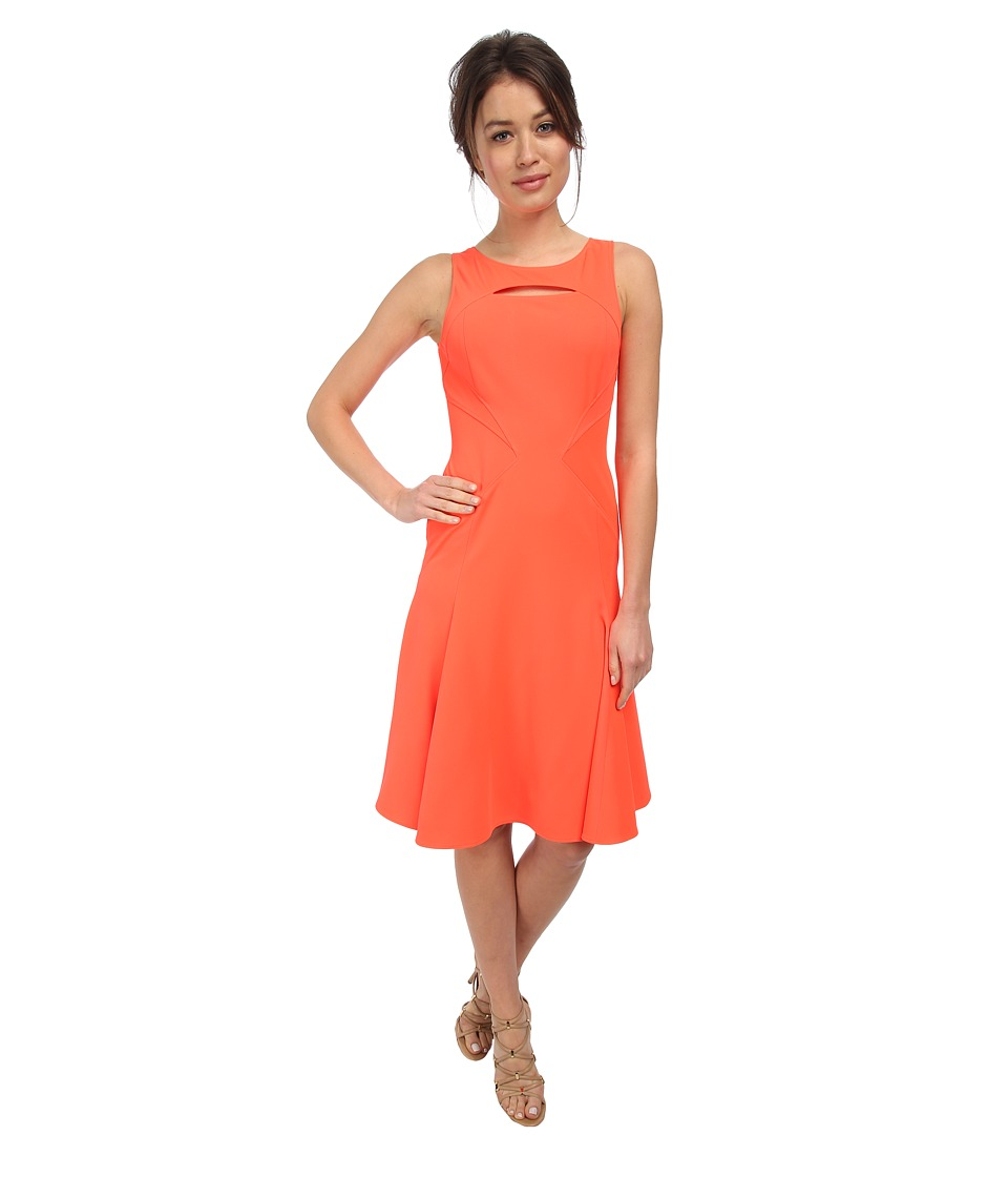 ZAC Zac Posen - ZP-01-5130-20 (Spiced Coral) Women's Dress