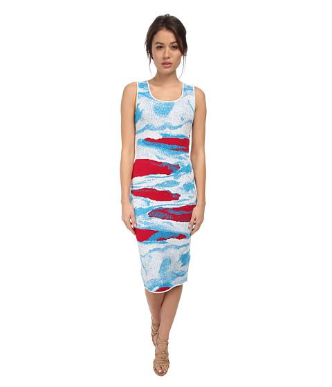 ZAC Zac Posen - ZP-33-8063-20 (Raspberry/Cyprus/White) Women's Dress
