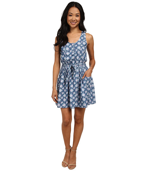 U.S. POLO ASSN. - Faith Dress (Indigo Botanical) Women's Dress