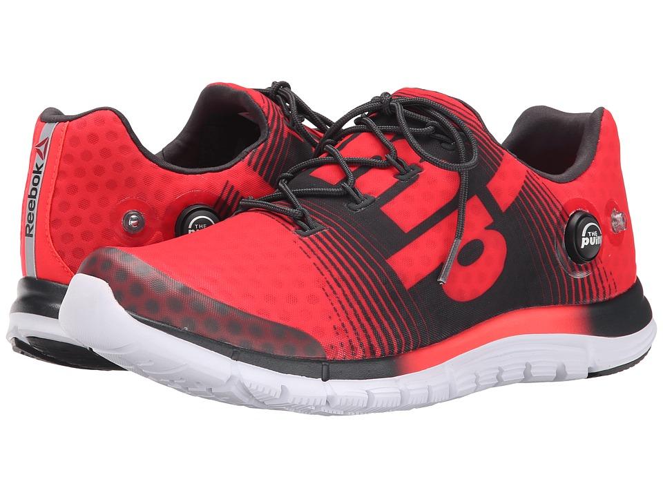 Reebok - ZPump Fusion (Neon Cherry/Gravel/White/Black) Men's Cross Training Shoes