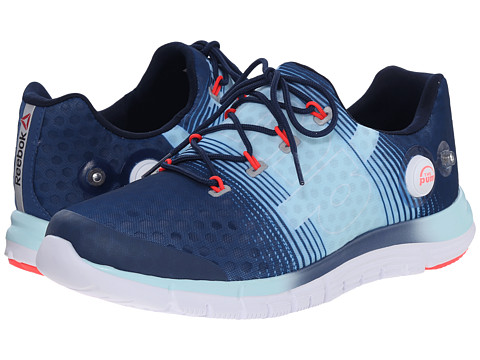Reebok - ZPump Fusion (Batik Blue/Cool Breeze/Neon Cherry/White) Women's Cross Training Shoes