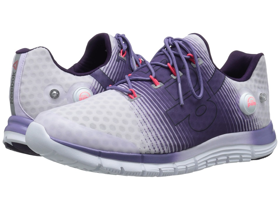 Reebok - ZPump Fusion (Lilac Ice/Purple Slate/Royal Orchid/Neon Cherry/White) Women's Cross Training Shoes
