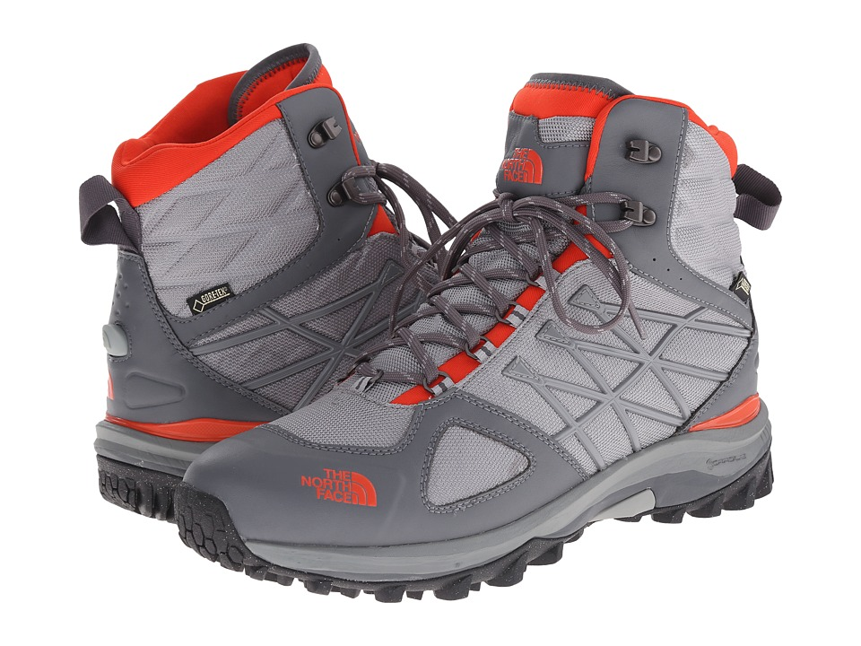 The North Face - Ultra Extreme II GTX (Zinc Grey/Valencia Orange) Men's Hiking Boots