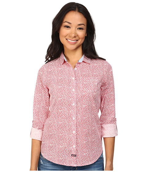 U.S. POLO ASSN. - Daisy Shirt (Lollipop) Women's Long Sleeve Button Up