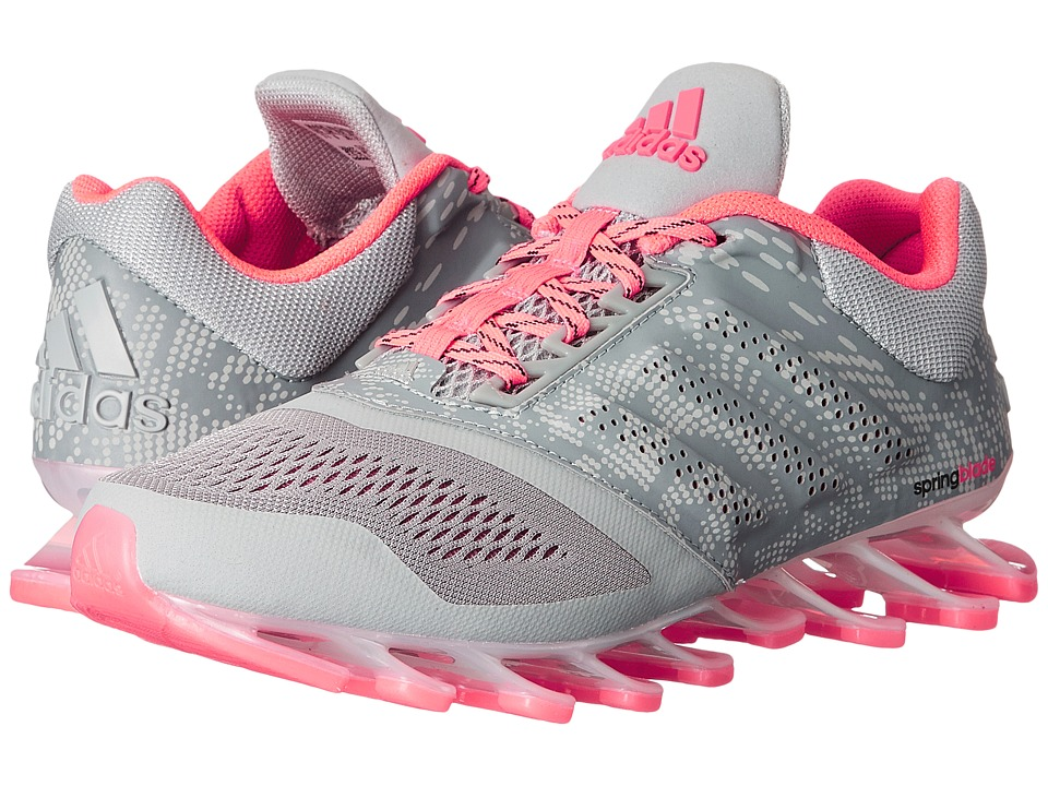 adidas Running - Springblade Drive 2 (Clear Onix/Flash Red/Silver Metallic) Women
