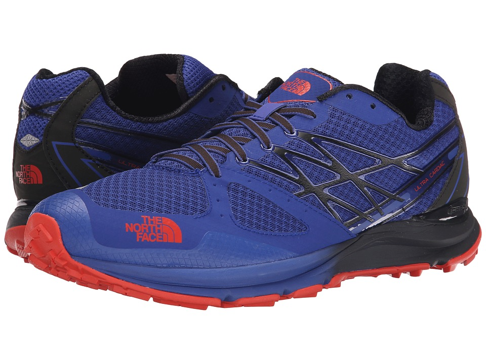 The North Face - Ultra Cardiac (Honor Blue/Valencia Orange) Men's Running Shoes