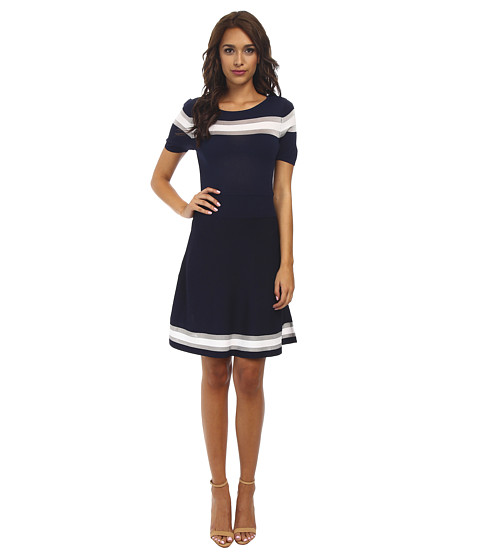 CATHERINE Catherine Malandrino - Leslie Dress (Navy/Blanc) Women's Dress
