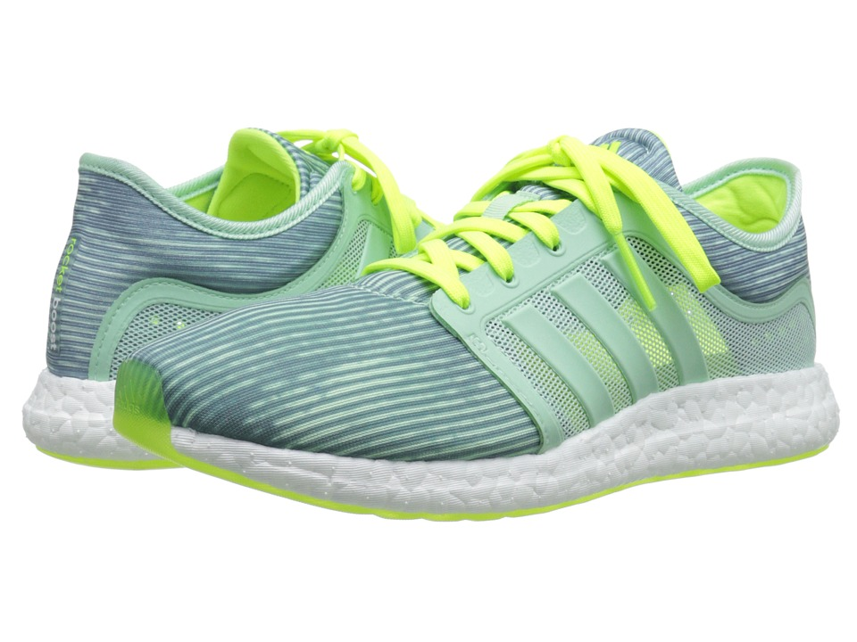 adidas Running CC Rocket Boost (Frozen Green/Frozen Yellow) Women