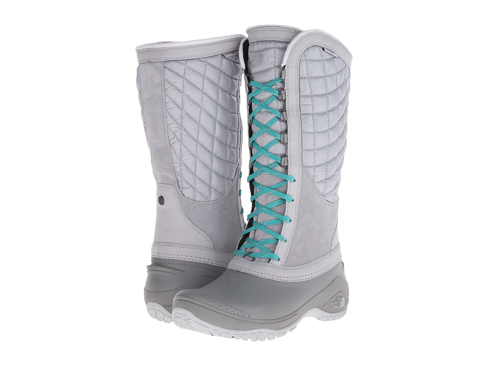 The North Face - ThermoBall Utility (High Rise Grey/Kokomo Green) Women's Boots