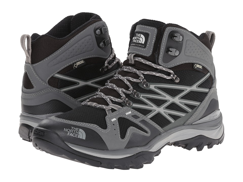 The North Face - Hedgehog Fastpack Mid GTX (TNF Black/Graphite Grey) Men's Hiking Boots