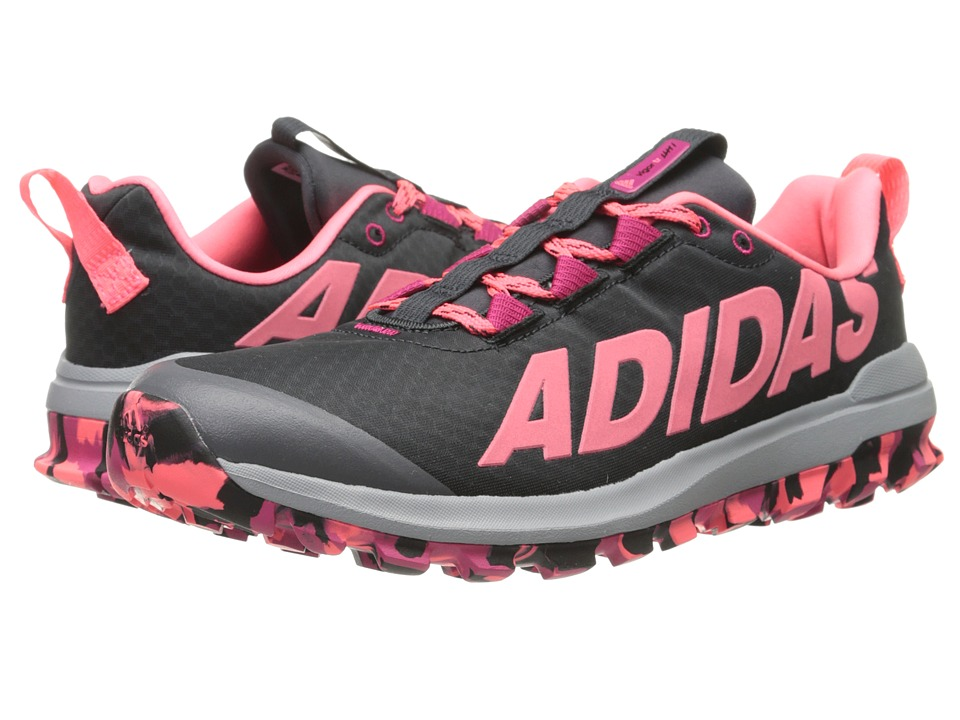 adidas Running - Vigor 6 TR (Dark Grey/Bold Pink/Flash Red) Women's Running Shoes
