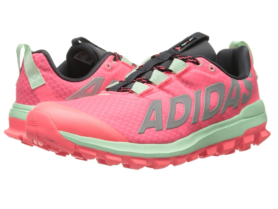 adidas Running - Vigor 6 TR (Flash Red/Silver Metallic/Frozen Green) Women's Running Shoes