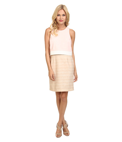 CATHERINE Catherine Malandrino - Styles Dress (Rose/Khaki/Blanc) Women's Dress