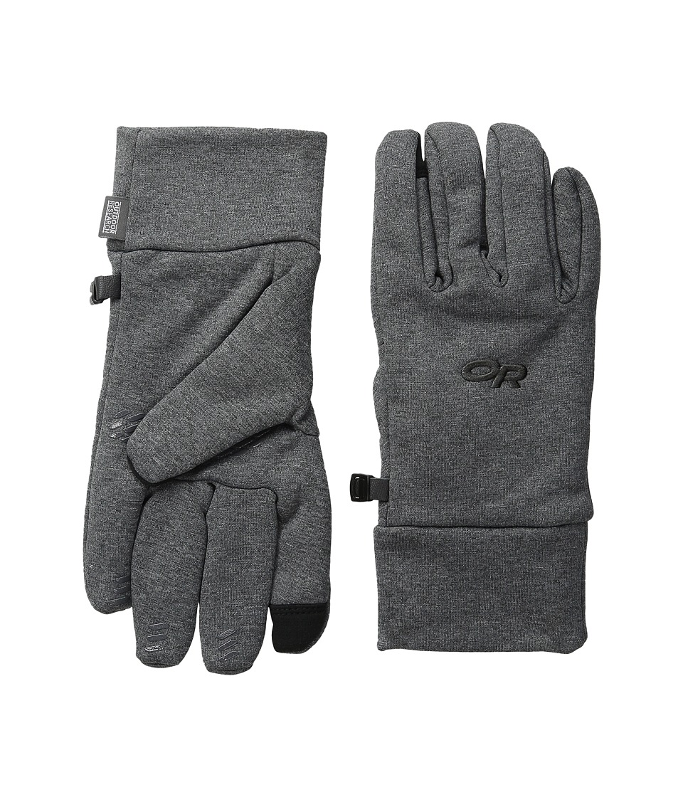 Outdoor Research Pl 400 Sensor Gloves (Charcoal Heather) Extreme Cold Weather Gloves