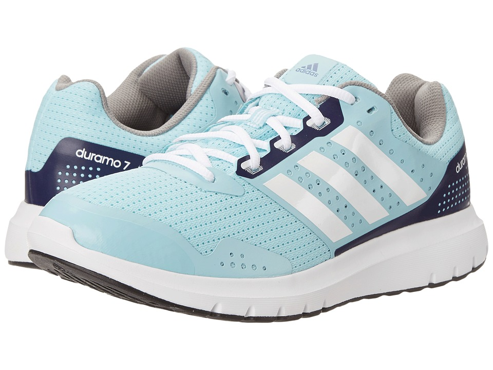 adidas Running - Duramo 7 (Frozen Blue/White/Midnight Indigo) Women's Running Shoes