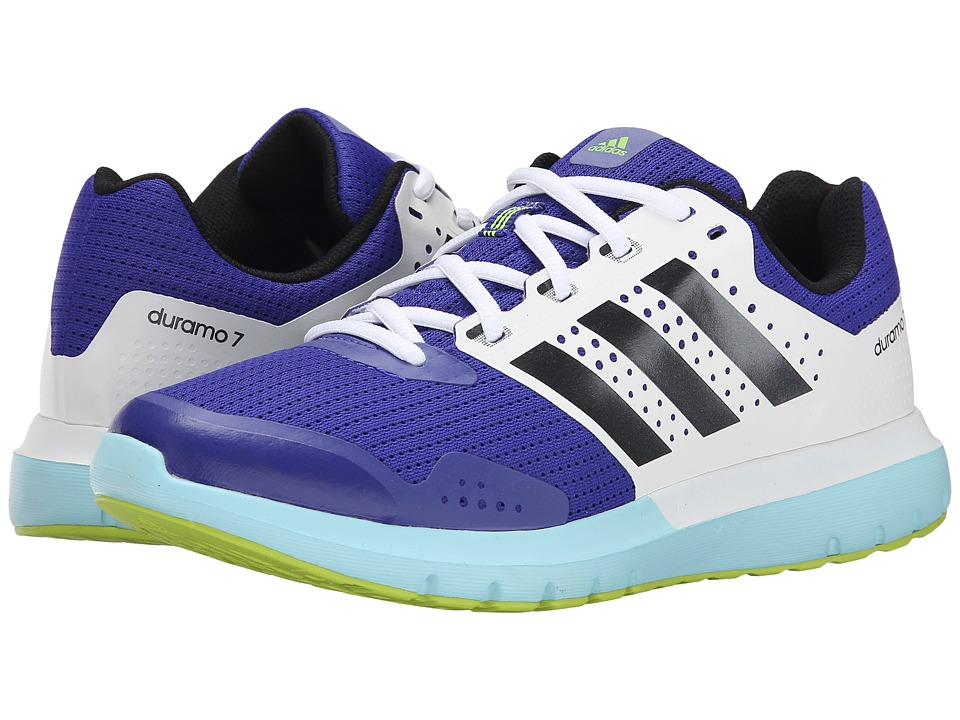 adidas - Duramo 7 (Night Flash/Night Metallic/Solar Yellow) Women's Running Shoes