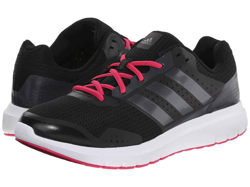 adidas Running - Duramo 7 (Black/Night Metallic/Bold Pink) Women's Running Shoes