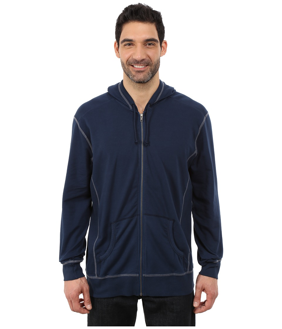 Ecoths - Bodhi Hoodie (Dress Blues) Men's Sweatshirt