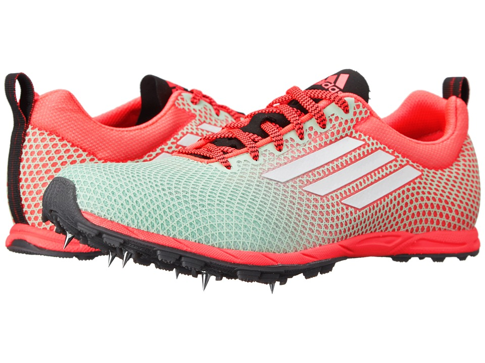 adidas Running - XCS 6 (Frozen Green/Flash Red/White) Women's Running Shoes