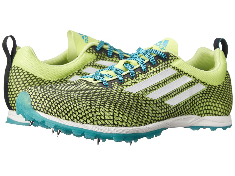 adidas Running - XCS 6 (Frozen Yellow/White/Bright Cyan) Women's Running Shoes
