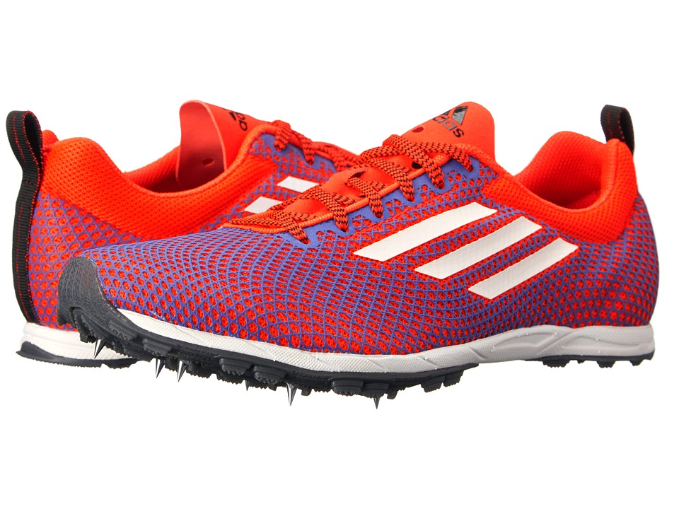 adidas Running - XCS 6 (Solar Red/White/Night Flash) Women's Running Shoes