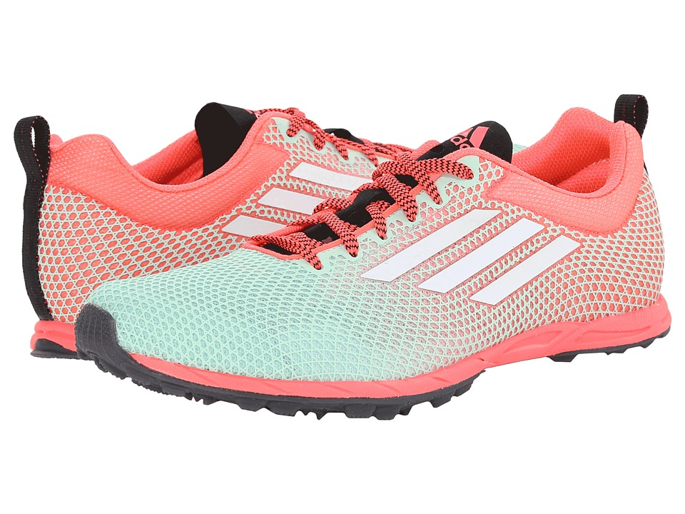 adidas Running - XCS 6 Spikeless (Frozen Green/Flash Red/White) Women's Running Shoes