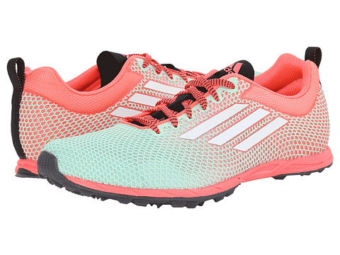 adidas Running - XCS 6 Spikeless (Frozen Green/Flash Red/White) Women