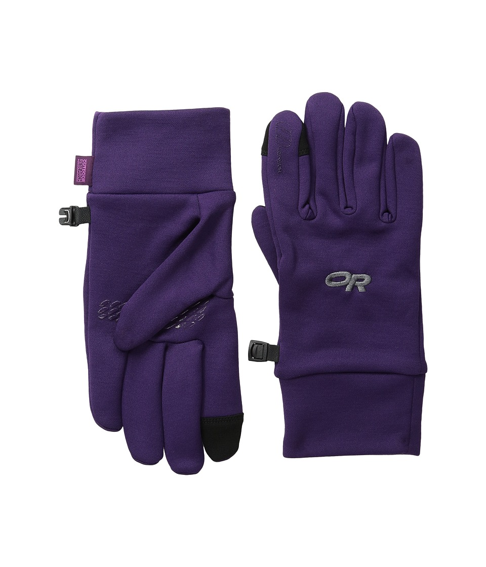 Outdoor Research - Pl 100 Sensor Gloves (Elderberry) Extreme Cold Weather Gloves